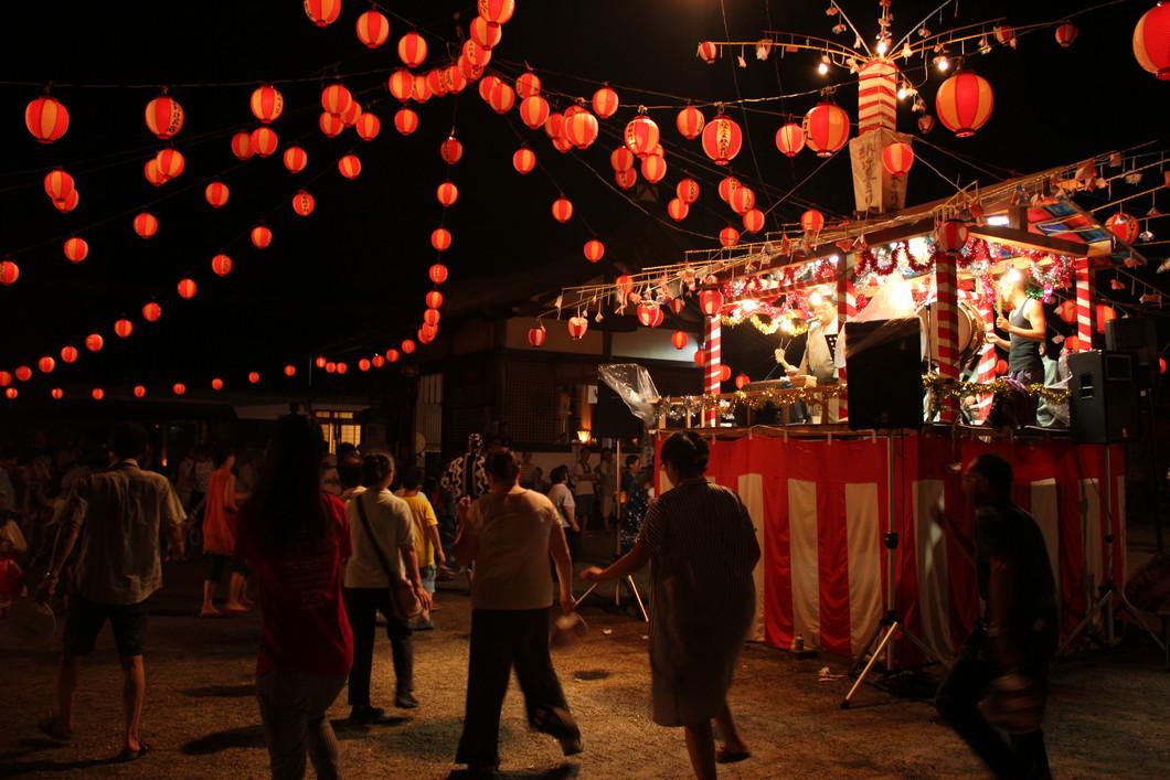 古市場納涼夏まつり(大盆踊り)