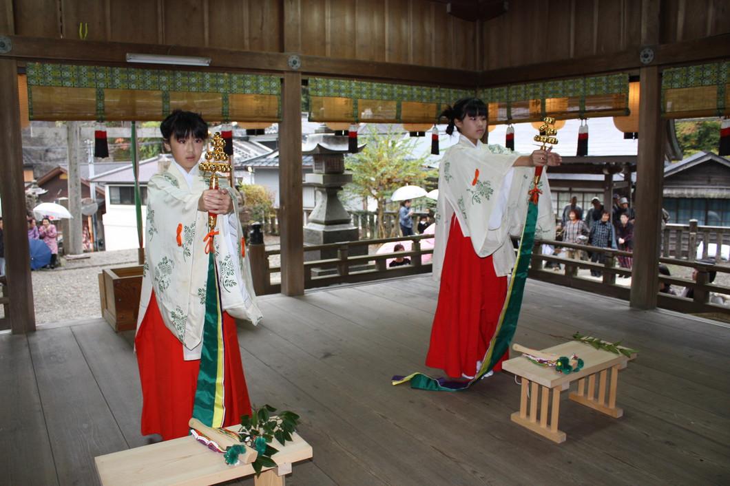 河分神社秋祭り