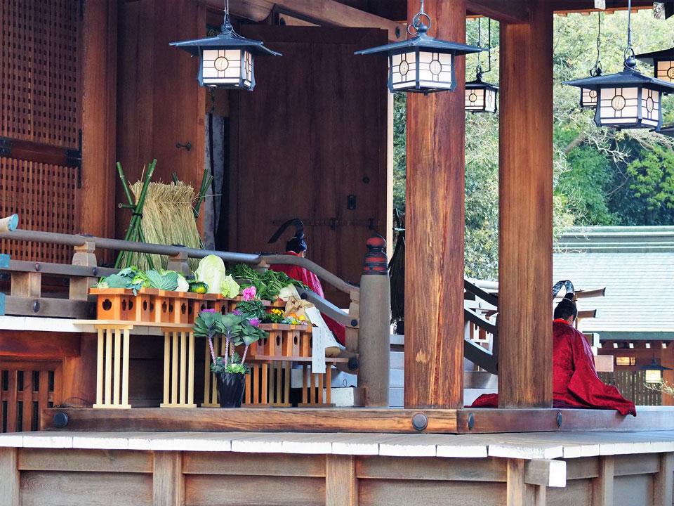 新嘗祭(農業祭・農産物品評会)