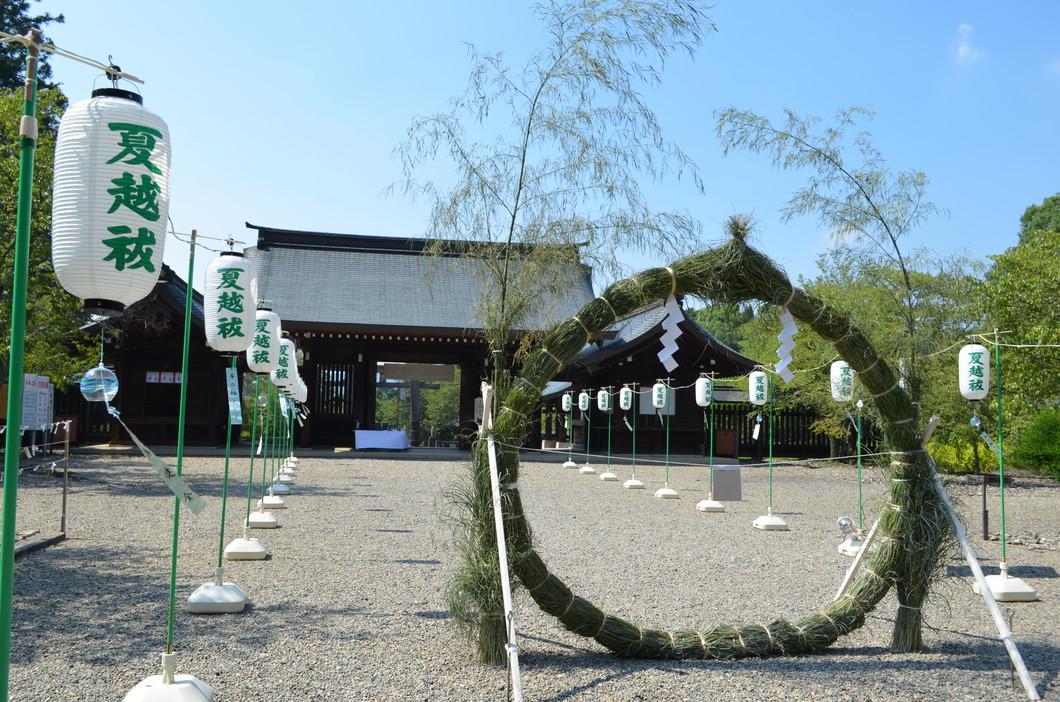 吉野神宮 茅の輪くぐり