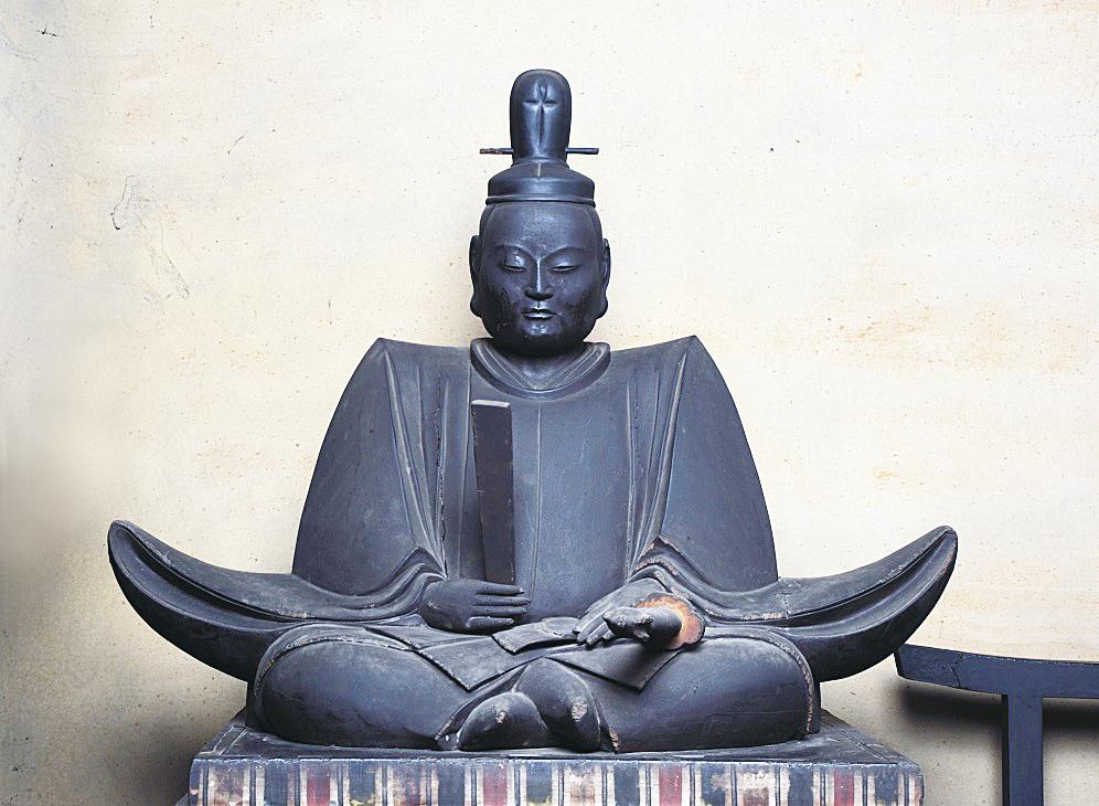 舎人親王像 写真:松尾寺