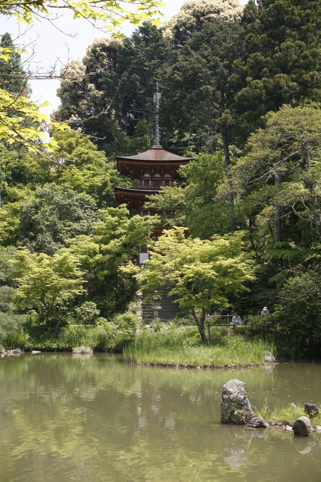 三重塔 写真:飛鳥園