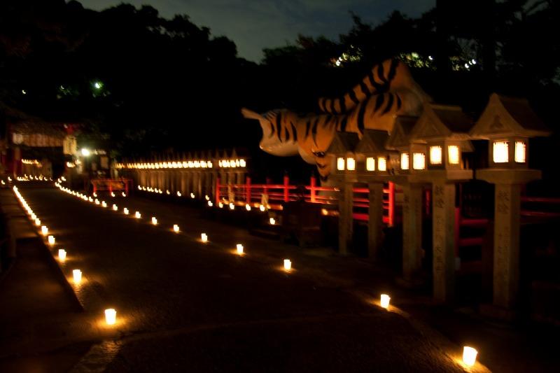 信貴山 燈火会