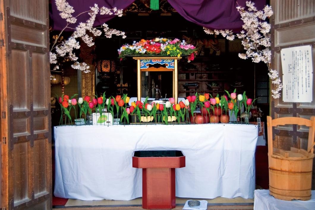 灌仏会(お釈迦様誕生花祭り)