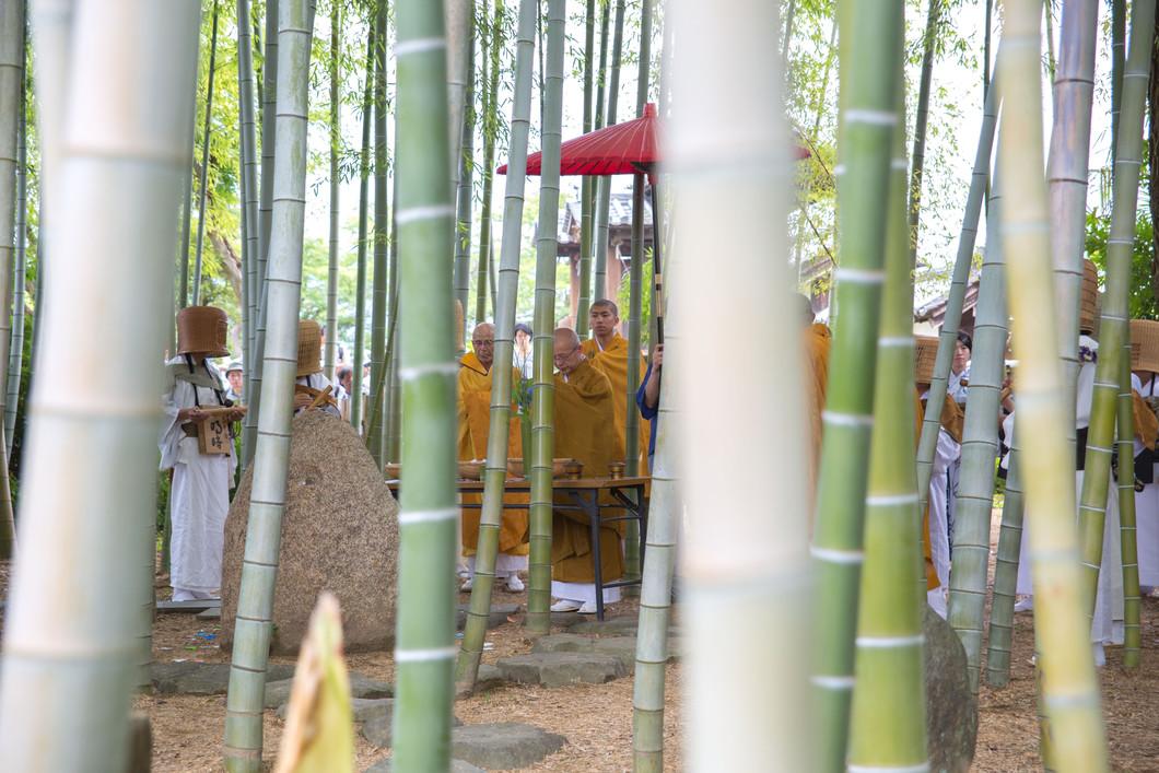 竹供養 がん封じ夏祭り