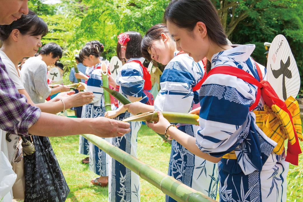 竹供養(癌封じ夏祭り)