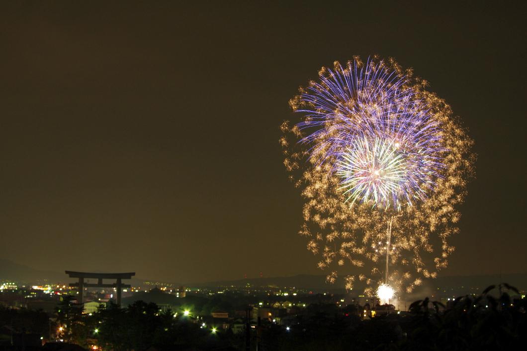 第60回おんぱら祭奉納花火大会
