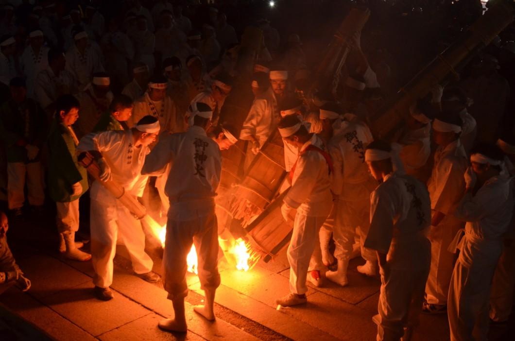 ご神火祭り(繞道祭)