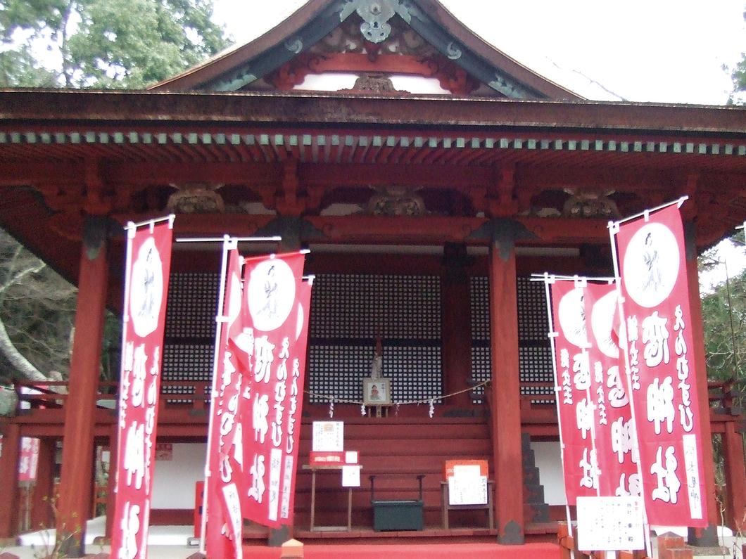 東殿(恋神社)