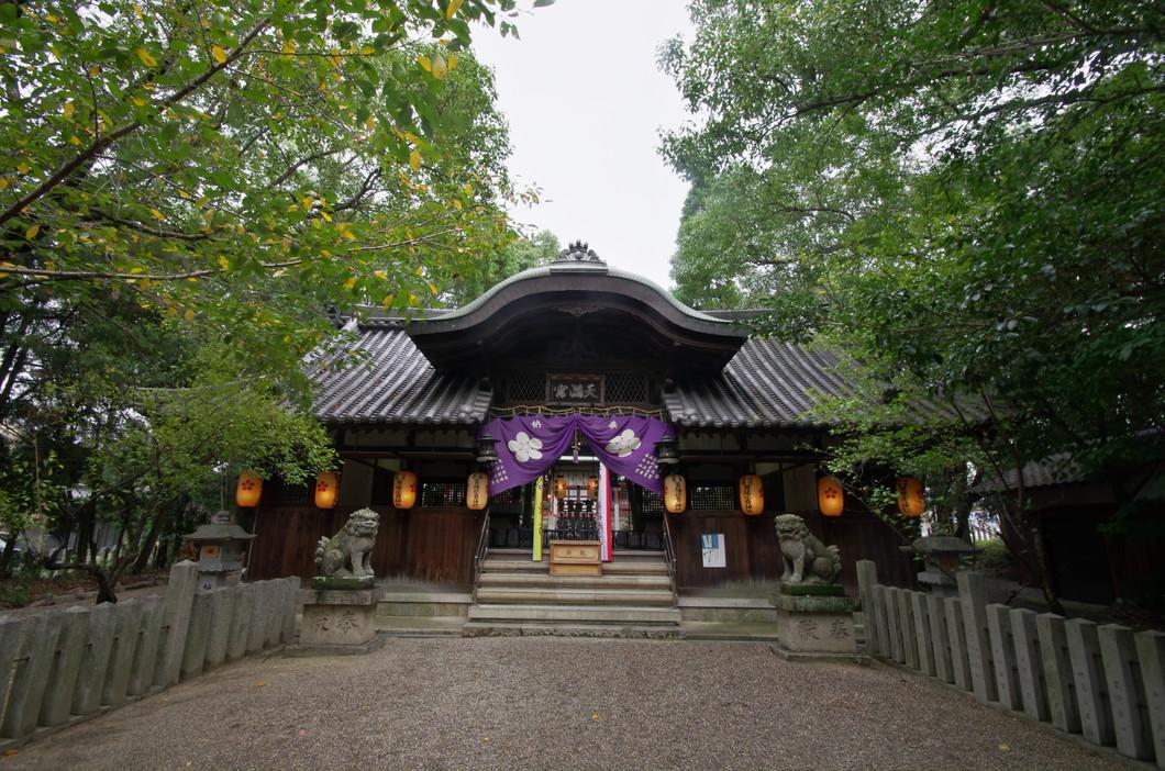 池神社(田原本町法貴寺)