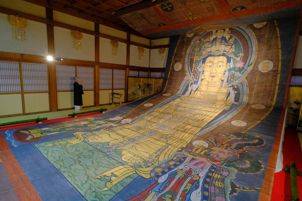 大観音大画軸 写真:長谷寺