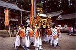 水分神社 秋季例祭