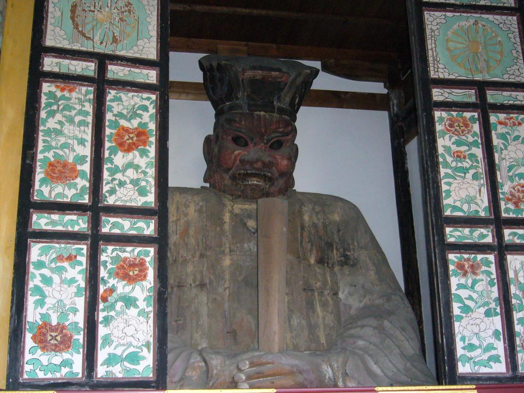 地蔵菩薩立像、閻魔堂特別公開