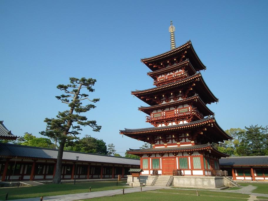 西塔 写真:薬師寺