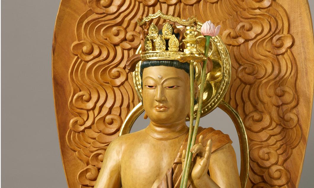 新造顕・弥勒菩薩像と弥勒菩薩画像(室町時代)
