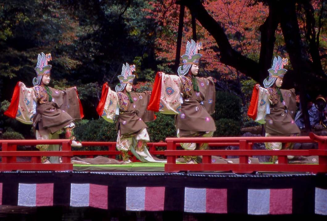 文化の日萬葉雅楽会