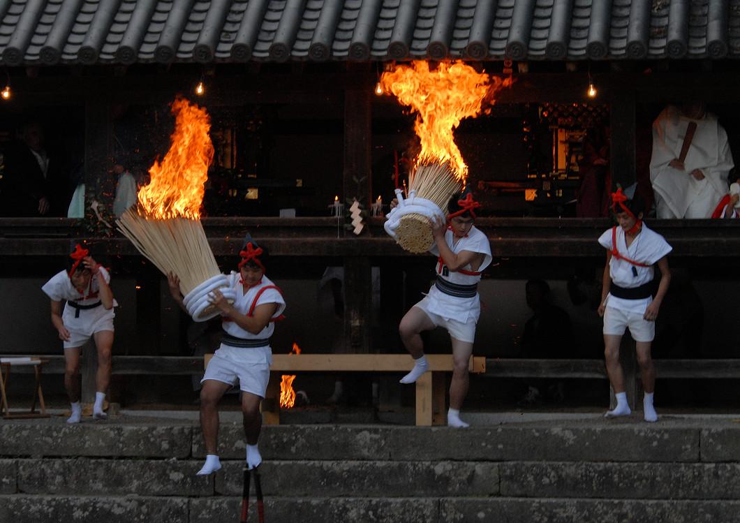 往馬大社例大祭(火祭り)