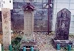 お里、沢市の墓