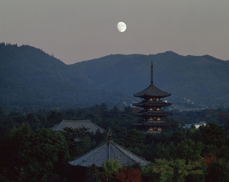 入江泰吉「古都奈良の文化財~興福寺~」展