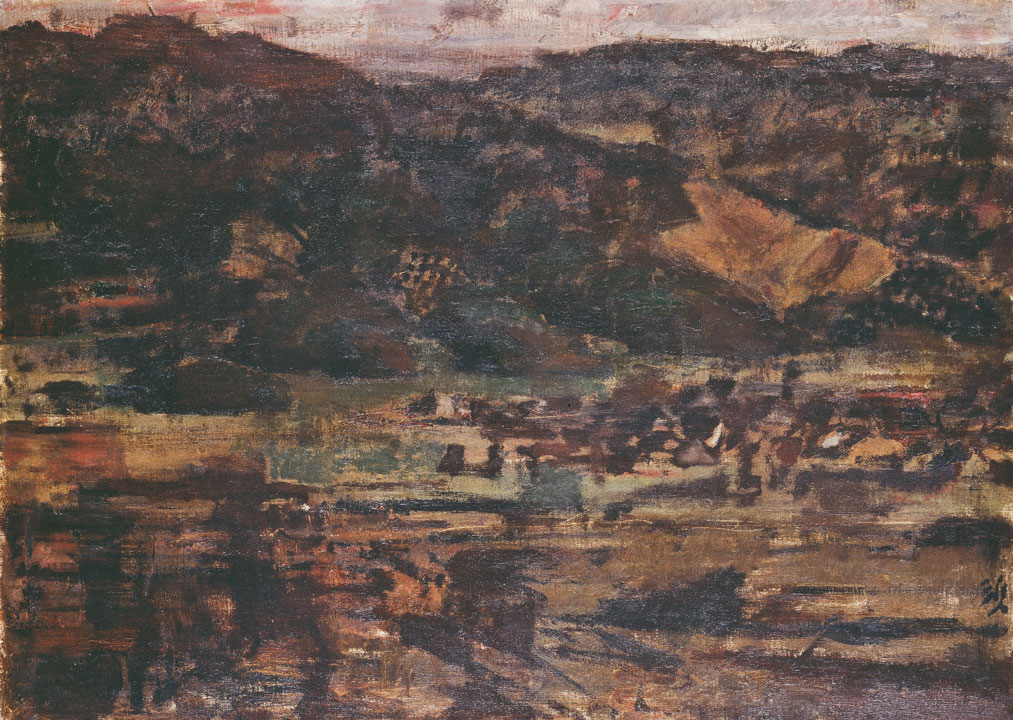 平成30年秋季展 「山と樹を描く」