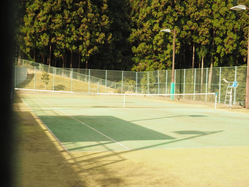 テニスコート(オムニコート)