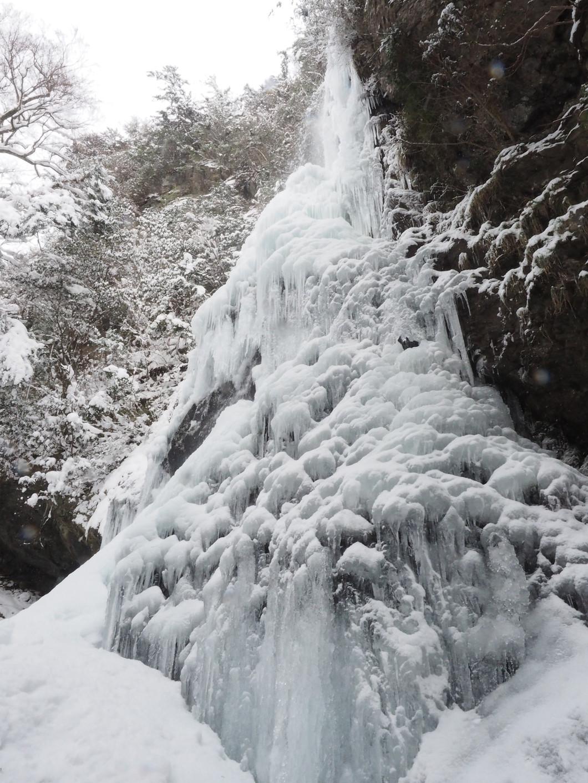 冬の氷瀑(2016.1.25)