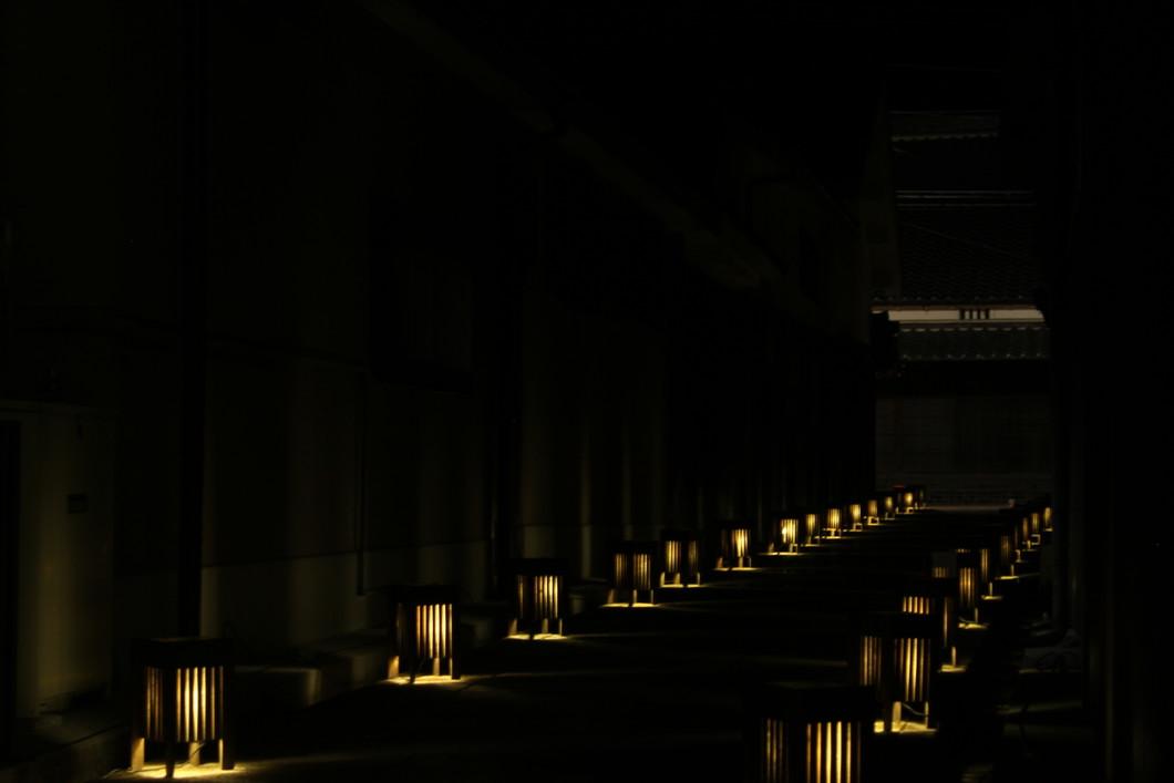 町並みライトアップ「宇陀松山夢街道」