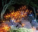 「地上の天の川」鍋倉渓ライトアップ