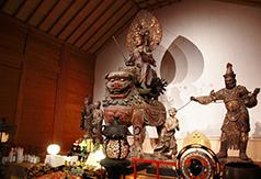 国宝の文殊菩薩騎獅像は大仏師・快慶の作