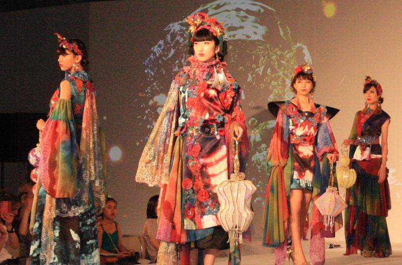 奈良県×文化服装学院ファッションショー「あたらよ」