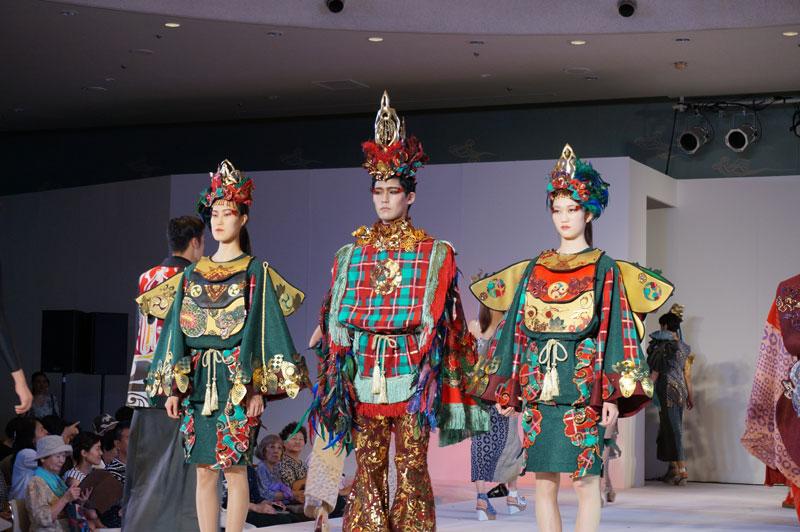 奈良県×文化服装学院ファッションショー「悠迦利(ユウカリ)」