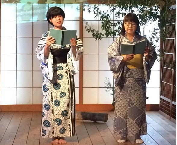 奈良町遊歩連動企画 オリジナル語り劇「猿沢池ものがたり」