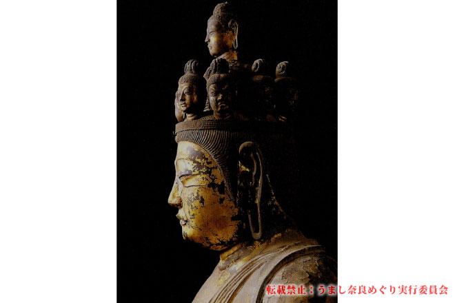 聖林寺 住職等のご案内でフェノロサも魅了された「国宝十一面観音立像」拝観と写経 ~お抹茶付き~