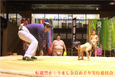 相撲館けはや座 今日からあなたも相撲通!横綱・稀勢の里が稽古した土俵にあなたも上がりませんか