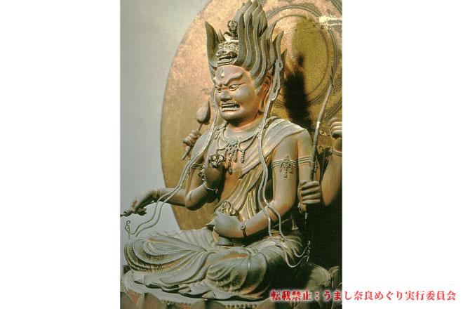 西大寺 秘仏愛染明王特別公開と大茶盛