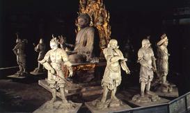 現存する十二神将像の中で最大にして最古 (写真/飛鳥園)