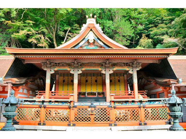 談山神社 勅使(ちょくし)の間での特別参拝