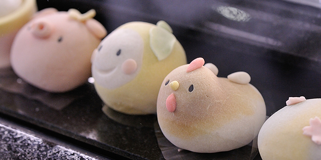キュートな生菓子に胸キュン