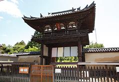 国宝に指定されている楼門