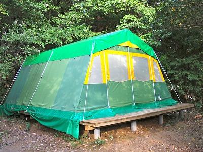 小型テント