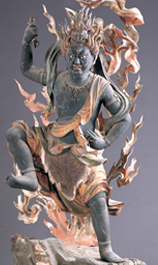 金剛蔵王権現立像(写真/如意輪寺)