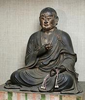 弘法大師坐像(元興寺文化財研究所蔵)