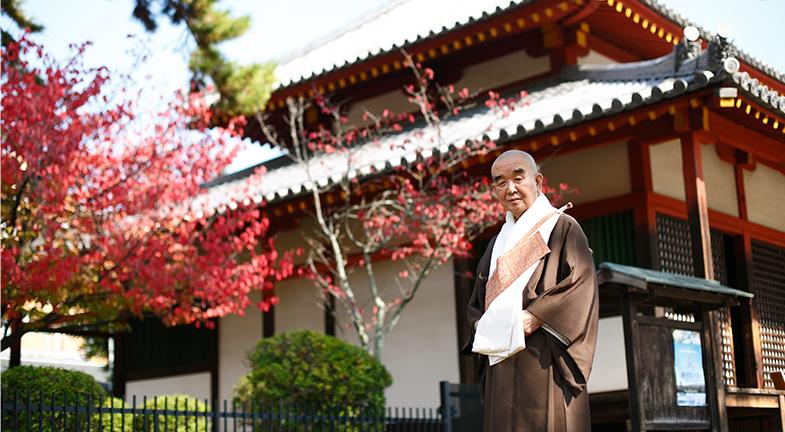 ―西大寺中興の祖であり、「生身の釈迦」と称えられた興正菩薩・叡尊ですね。