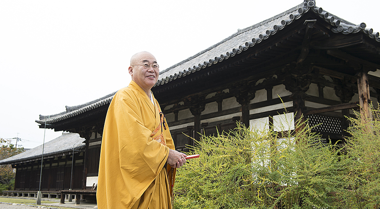 ―「ならまち」は元興寺の旧境内にあり、いにしえから祈りの地であったのですね。そして元興寺には中世庶民信仰の貴重な資料も伝わっています。