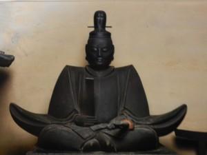 日本唯一の舎人親王(日本書紀編纂)像