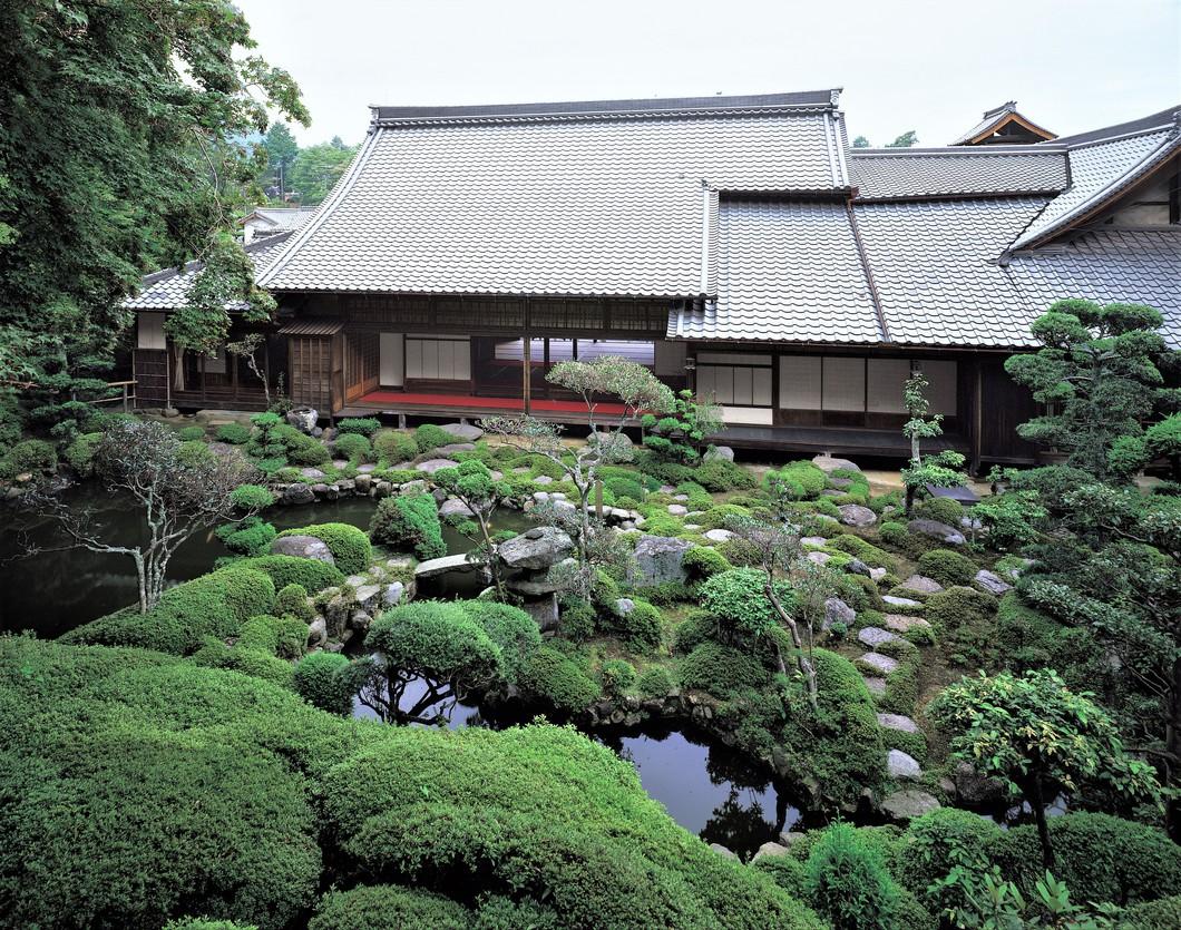 西南院庭園