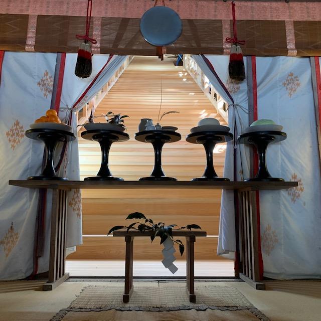 水の神様を祀る丹生川上神社
