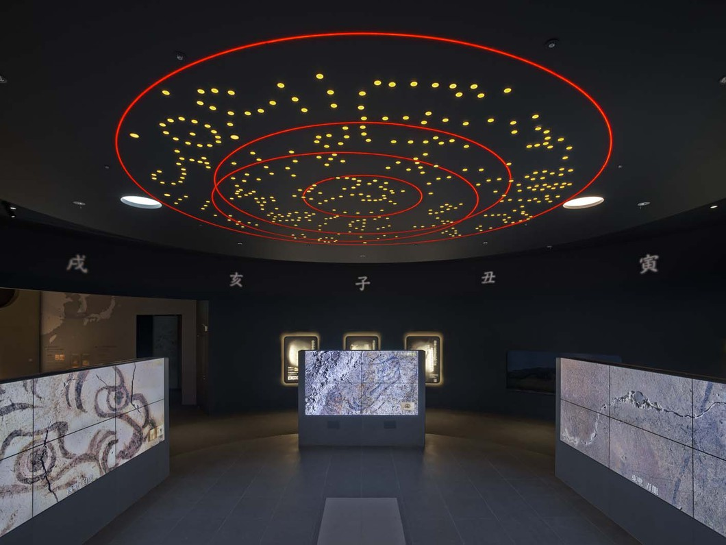 キトラ古墳壁画体験館「四神(しじん)の館」
