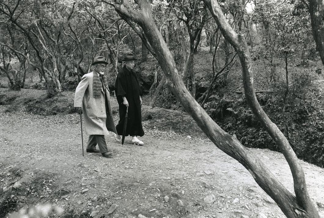 入江泰吉「奈良を愛した文士と高畑界隈」展