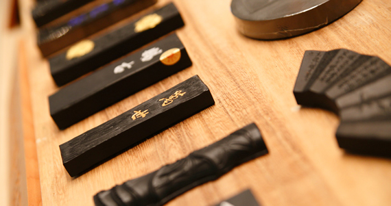 現在も10以上の会社が奈良墨を作り続ける